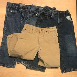 Other - 3/$30 🦋 Lot of 4 Assorted Boys Jeans